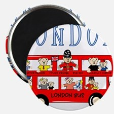 "London Bus 2.25"" Magnet (100 pack)"