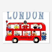 London Bus Postcards (Package of 8)