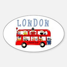 London Bus Oval Decal
