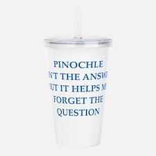 pinochle Acrylic Double-wall Tumbler