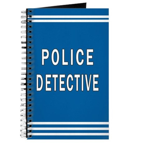 Police Detective Blues Journal