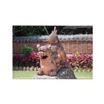 Ryukyu Shisa Rectangle Magnet (100 pack)
