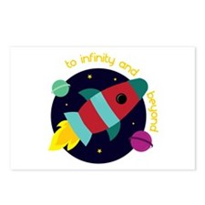 Infinity And Beyond Postcards (Package of 8)