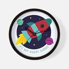 Its Not Rocket Science Wall Clock