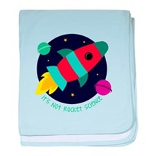 Its Not Rocket Science baby blanket