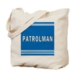 Patrolman Blues Tote Bag