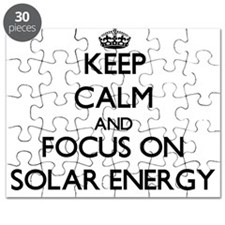 Keep Calm and focus on Solar Energy Puzzle