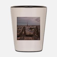 Cute Seine river Shot Glass