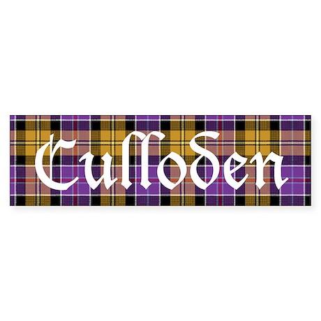 Tartan - Culloden dist. Sticker (Bumper)