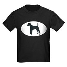 Smooth Fox Terrier Silhouette T