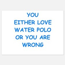 water polo Invitations