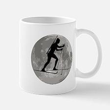 Biathlete Moon Mugs