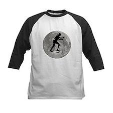 Biathlete Moon Baseball Jersey