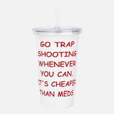 trap shooting Acrylic Double-wall Tumbler