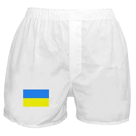 ukraine flag Boxer Shorts