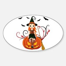 Pumpkin Witch- Decal