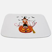 Pumpkin Witch- Bathmat