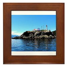 West Coast Lighthouse Framed Tile