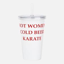 karate Acrylic Double-wall Tumbler