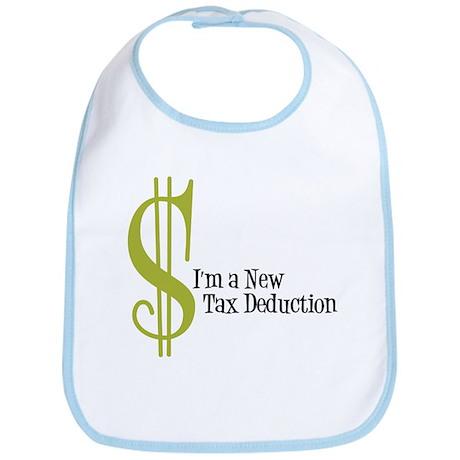 I'm a new tax Deduction Baby Bib