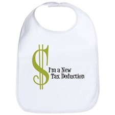 I'm a new tax Deduction Baby Bib