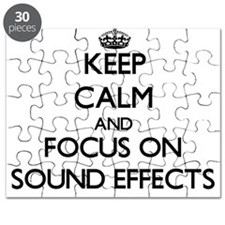 Keep Calm and focus on Sound Effects Puzzle