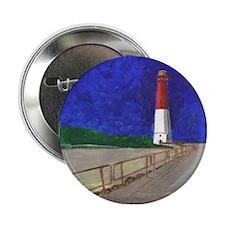 "Old Barney Lighthouse 2.25"" Button"