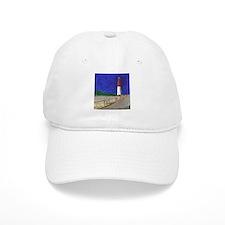 Old Barney Lighthouse Baseball Cap