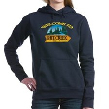 Welcome to ShitCreek Women's Hooded Sweatshirt
