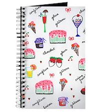 Cute Whipped cream Journal