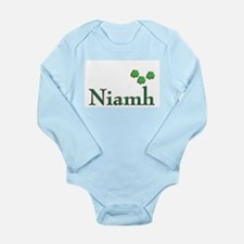 niamh first name shamrocks (c)SMK Body Suit