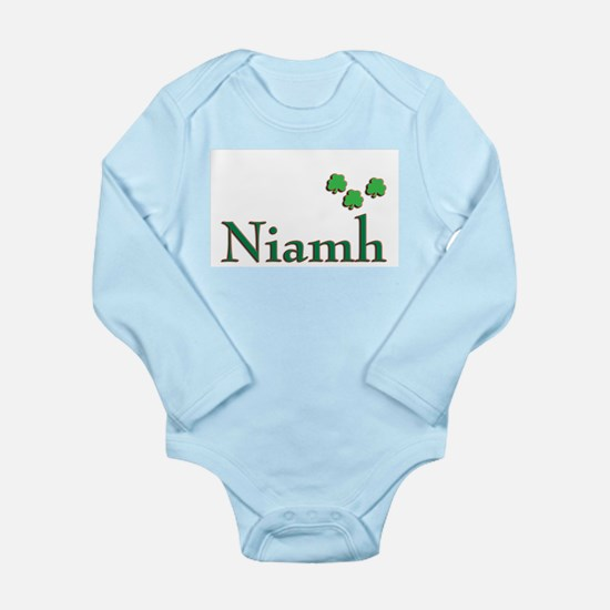 niamh first name shamrocks (c)SMK Body Suit