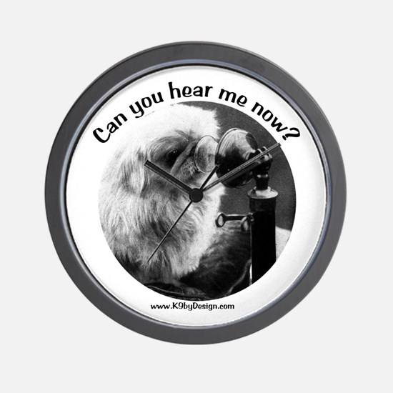 Can you hear me now? Wall Clock