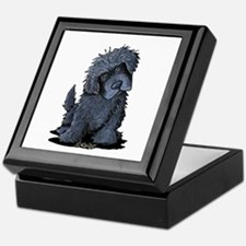 Black Newfie Keepsake Box