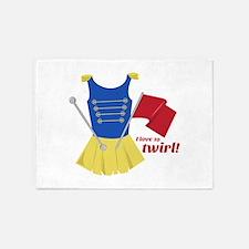 Love to Twirl 5'x7'Area Rug