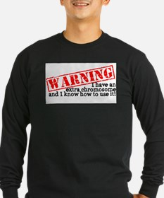 WARNING Long Sleeve T-Shirt