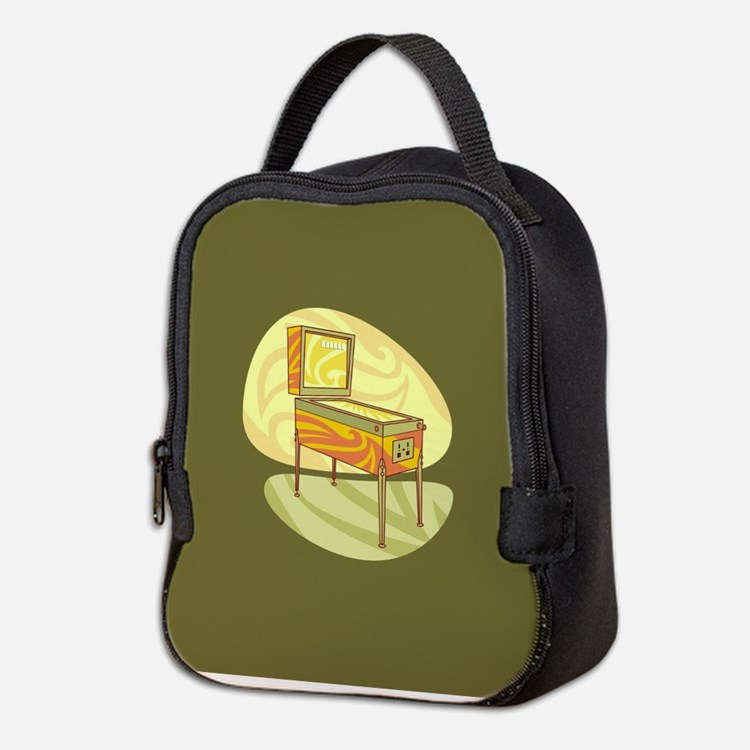 Pinball Neoprene Lunch Bag