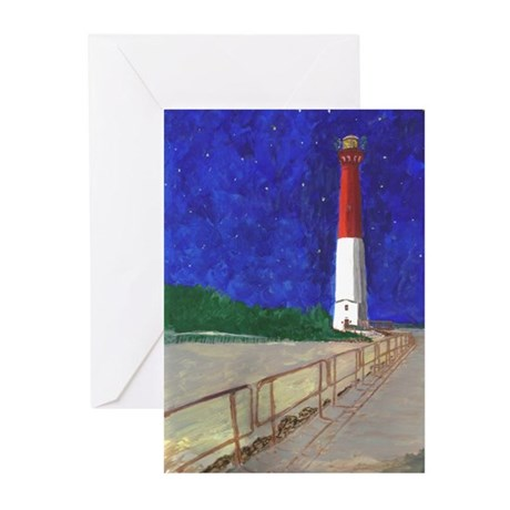 Starry Night Old Barney Greeting Cards (Package of