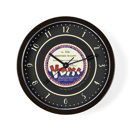"""V Disc"" Benny Goodman 78 Label Wall Clock"
