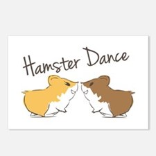 Hamster Dance Postcards (Package of 8)
