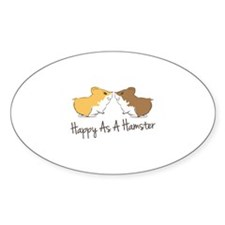 Happy Hamster Decal