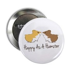 "Happy Hamster 2.25"" Button (10 pack)"