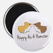 Happy Hamster Magnets