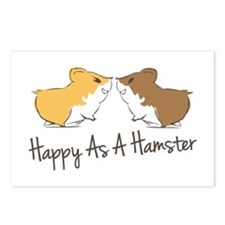 Happy Hamster Postcards (Package of 8)
