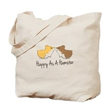 Happy Hamster Tote Bag