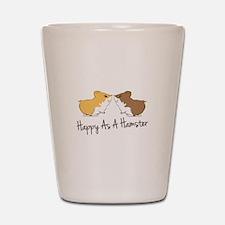 Happy Hamster Shot Glass