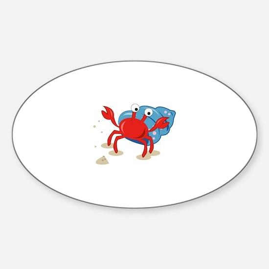 Dancing Crab Decal
