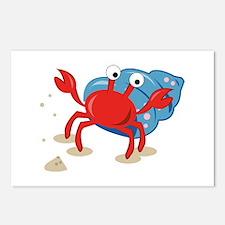 Dancing Crab Postcards (Package of 8)