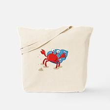 Dancing Crab Tote Bag
