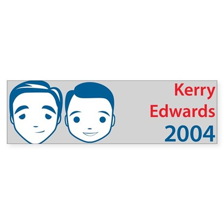 Kerry Edwards Bumper Sticker